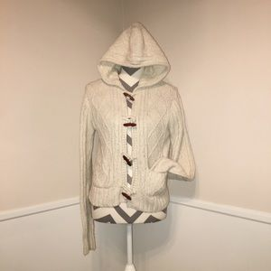 ANTHROPOLOGIE | Lux | hooded sweater